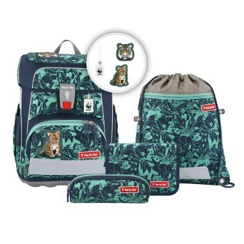 Step by Step CLOUD WWF Schulranzen-Set Tigers HAM-129246
