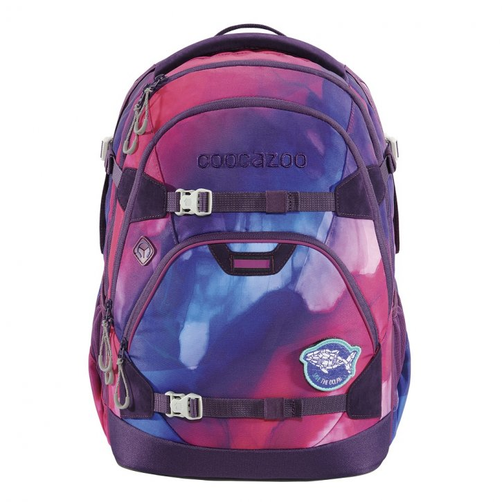 COOCAZOO ScaleRale Schulrucksack OceanEmotion purple bay