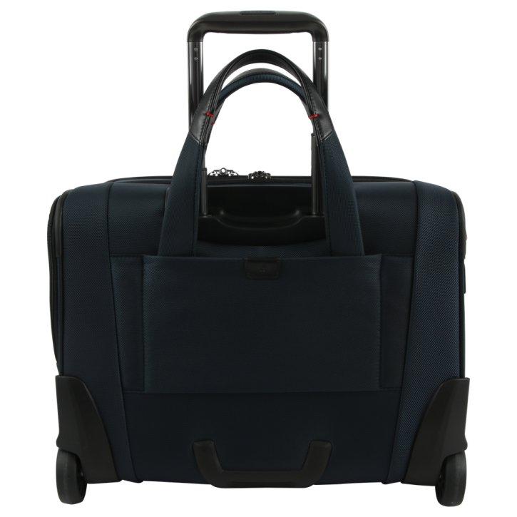 "Samsonite PRO-DLX 5 15.6"" oxford rolling tote Laptoptasche blue"