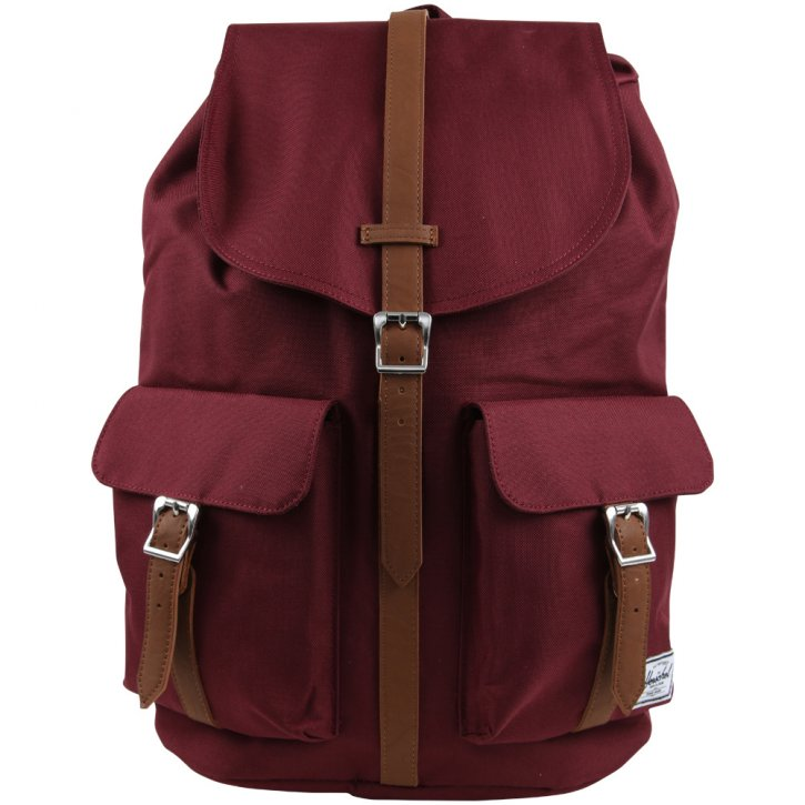 HERSCHEL DAWSON Backpack windsor wine/ tan