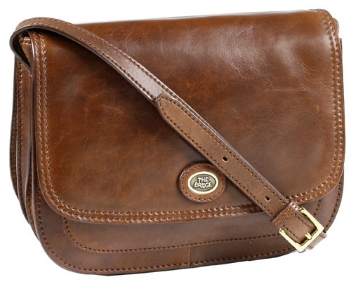 Handtasche Rindleder braun