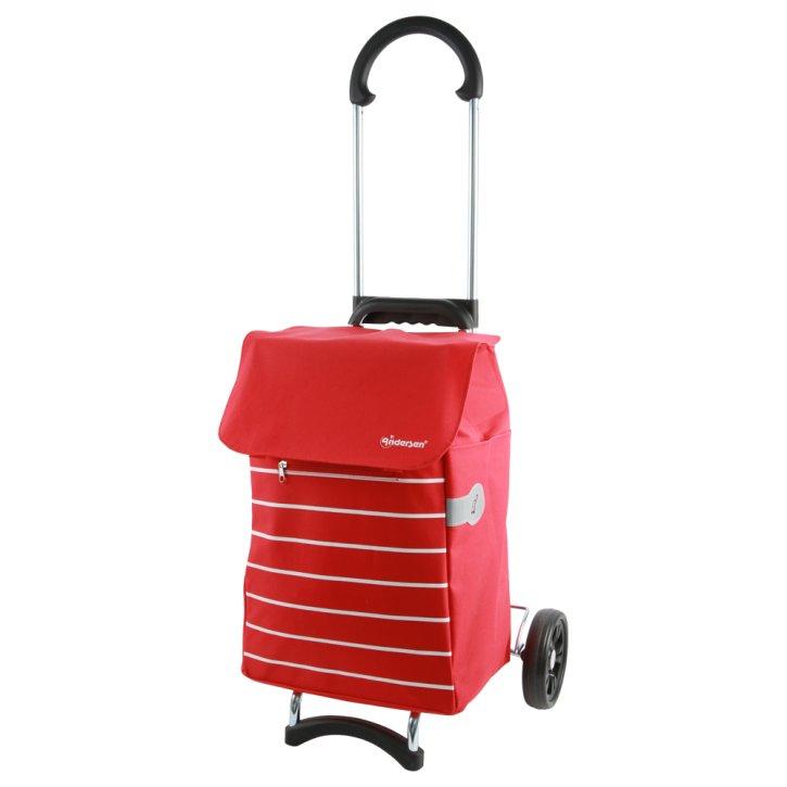 Andersen SCALA Einkaufstrolley  Lini rot