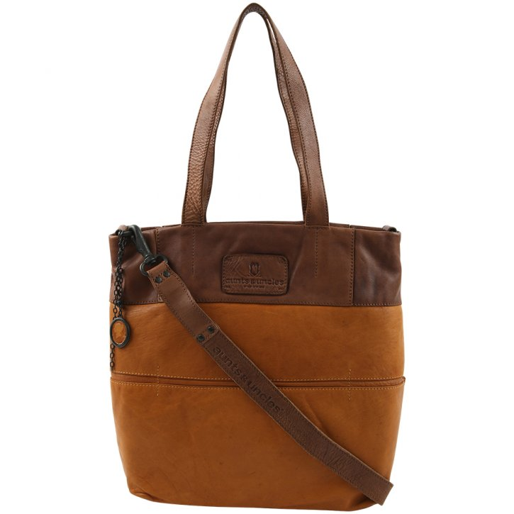 Aunts & Uncles VIOLET Shopper curry