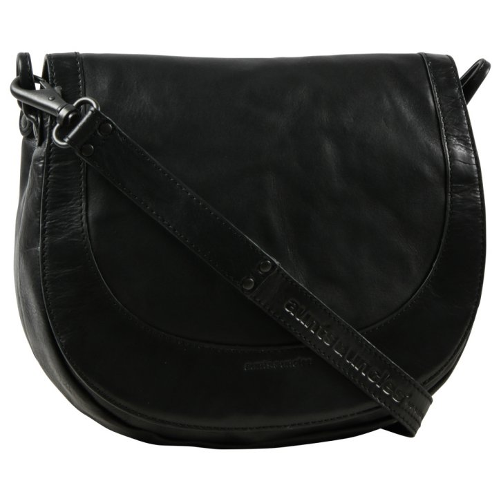 Aunts & Uncles MRS CHEESECAKE Saddle-bag black smoke AU-40453-0