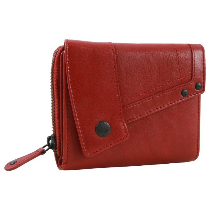 LOTTA Damenbörse crimson red