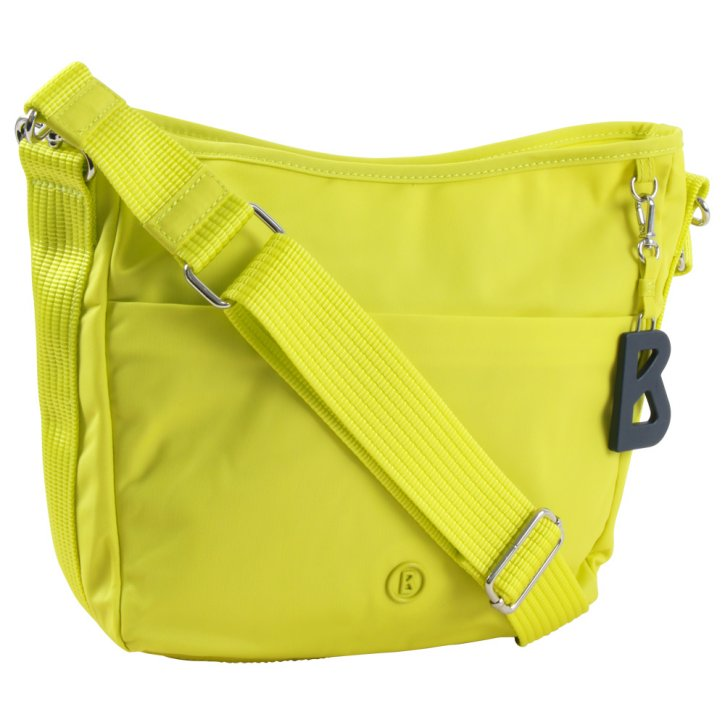 VERVIER IRMA Schultertasche light yellow