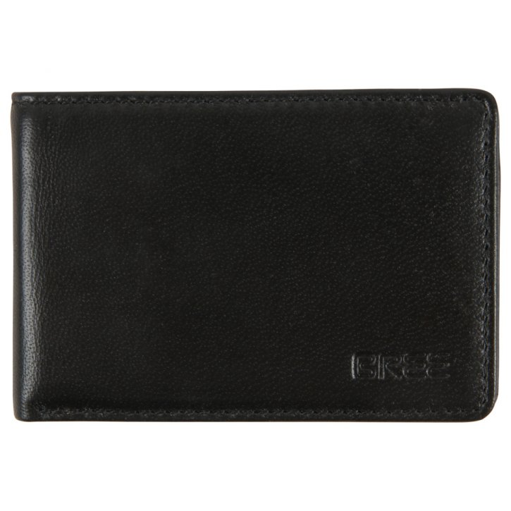 POCKET NEW 102 black soft wallet