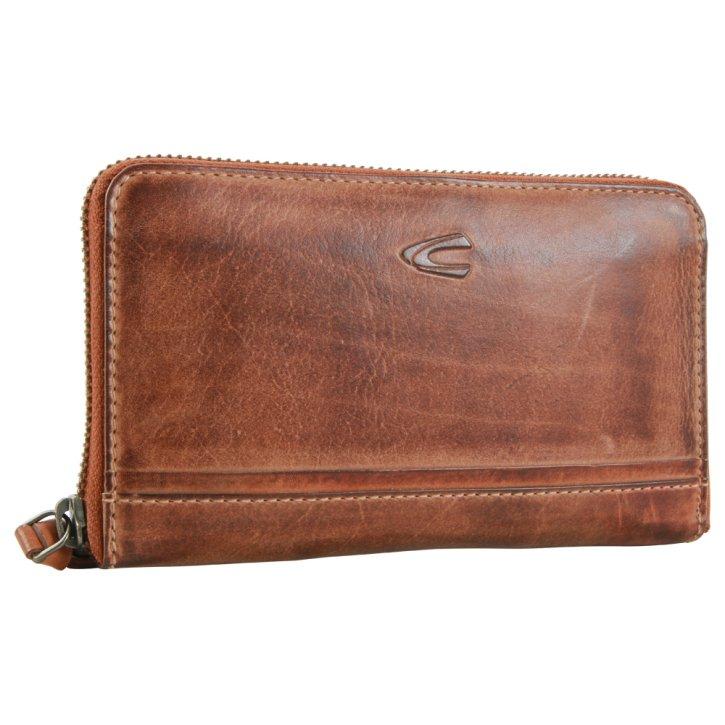 SULLANA W3 wallet  cognac