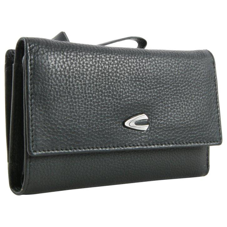 CAMEL ACTIVE PURA W4 black wallet RFID