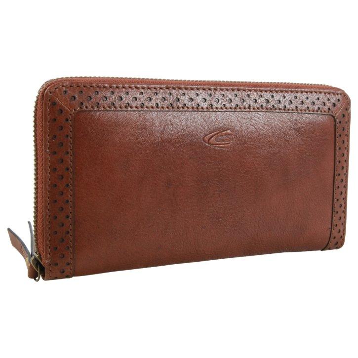 CAMEL ACTIVE TALARA W3 cognac wallet RFID
