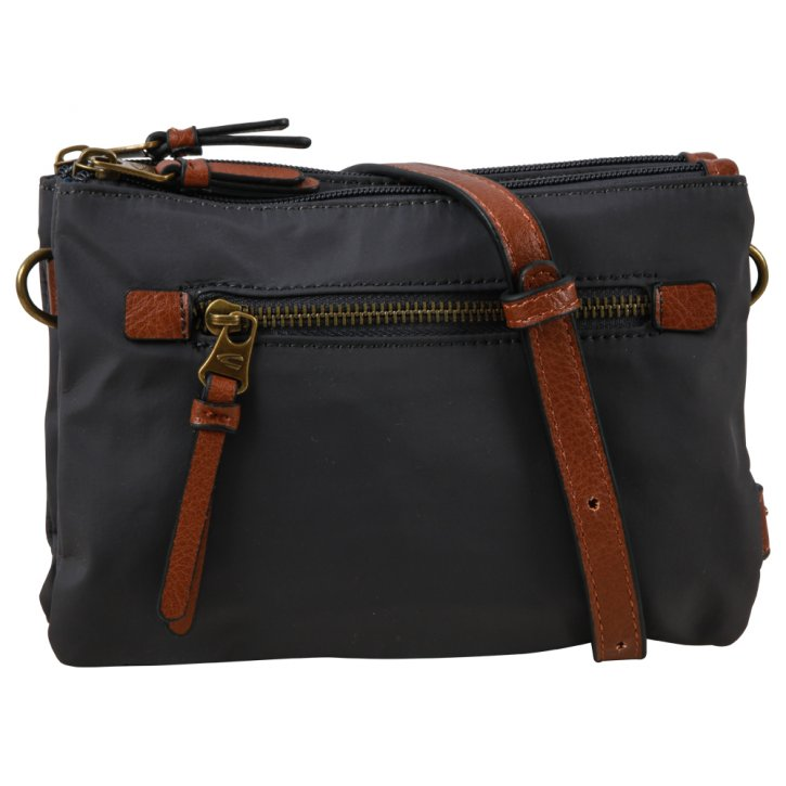 Bari cross bag dark grey