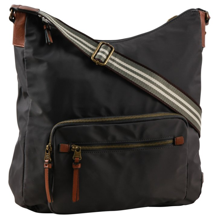 Bari hobo bag dark grey