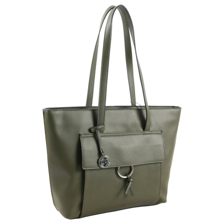 LEASURE MIX Shopper khaki