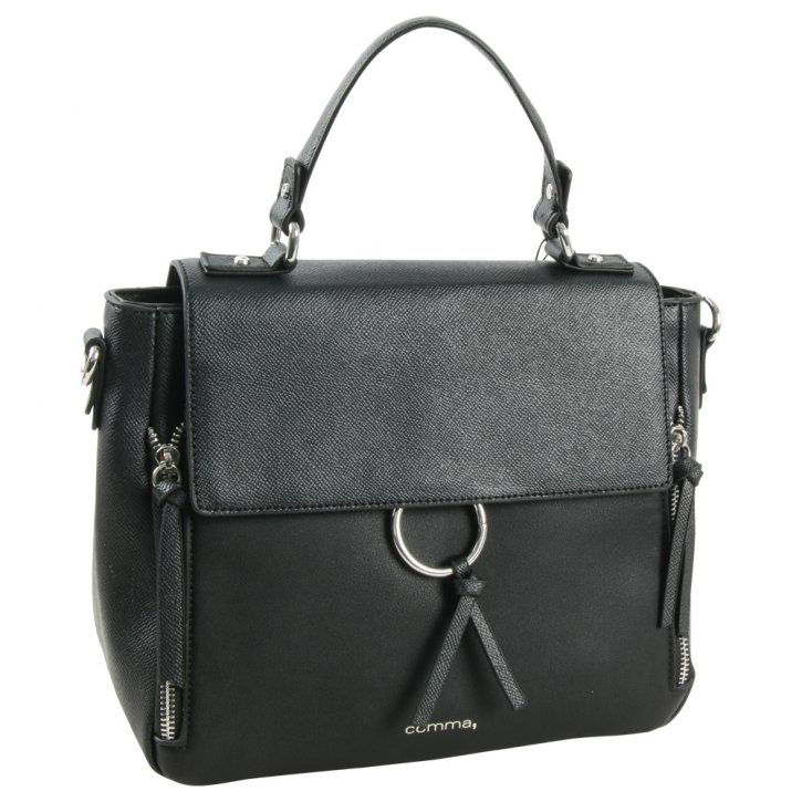 LEASURE MIX Handtasche black