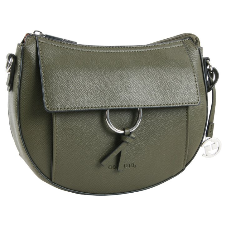 LEASURE MIX Schultertasche khaki