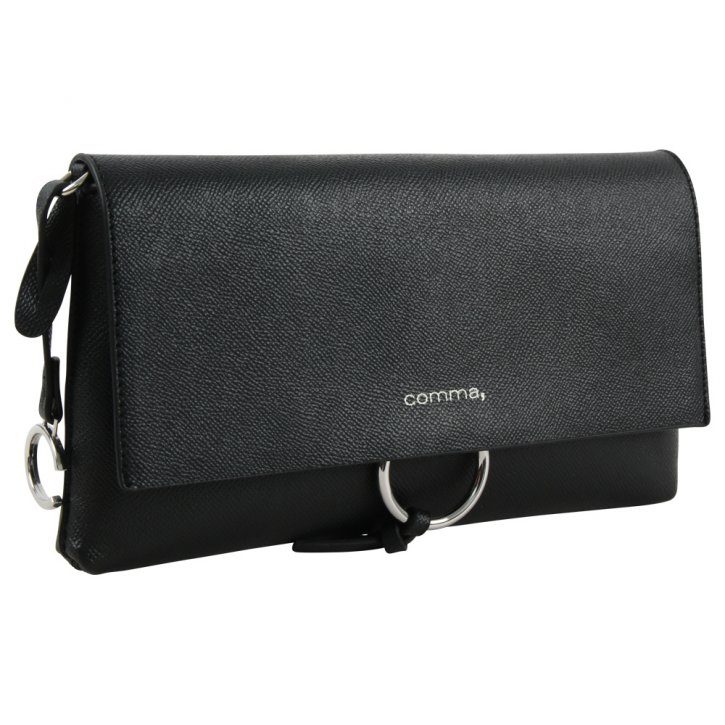 Comma LEASURE MIX Clutch black