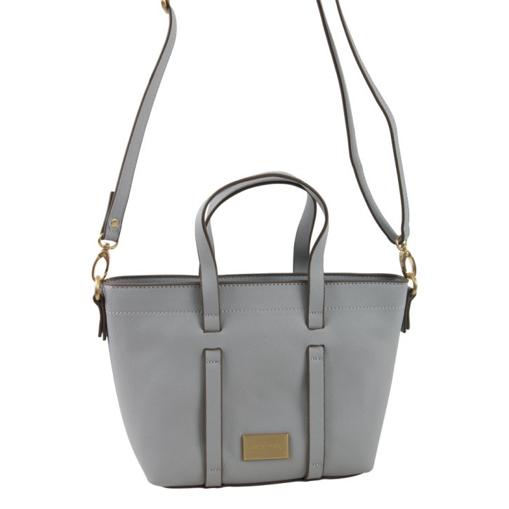 Comma BE YOURSELF Handtasche light grey