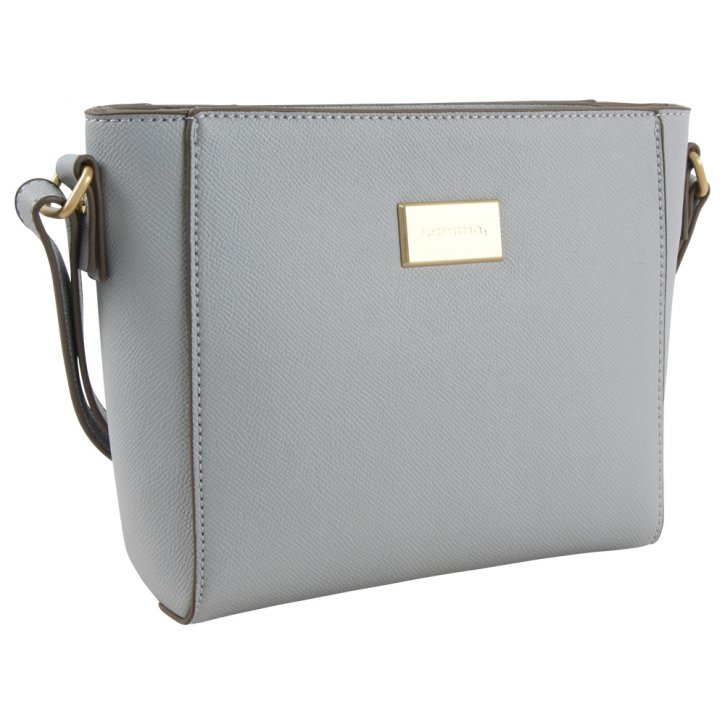 BE YOURSELF Schultertasche light grey