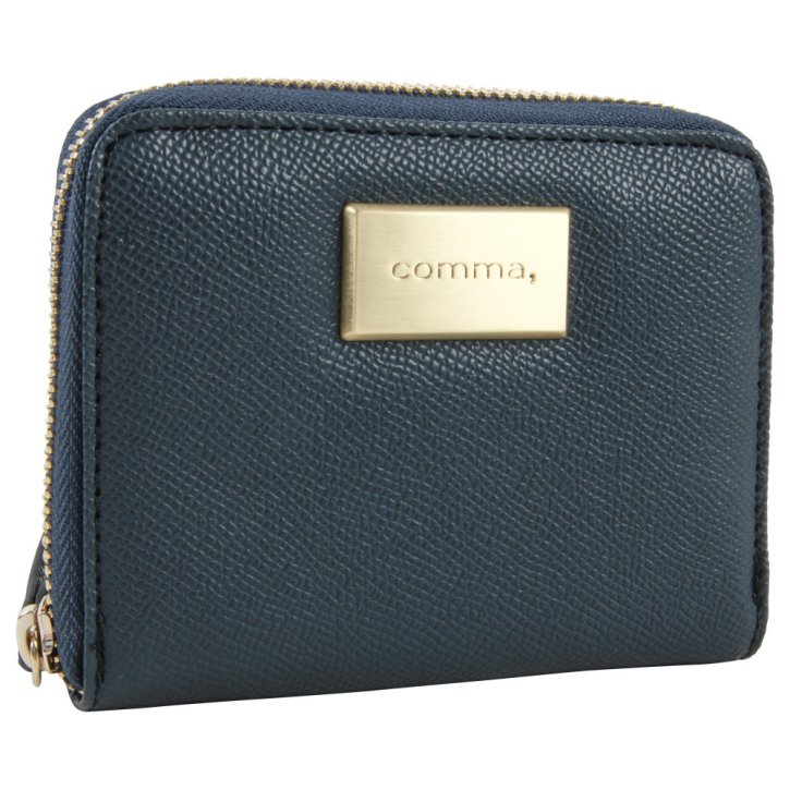 Comma BE YOURSELF dark blue purse