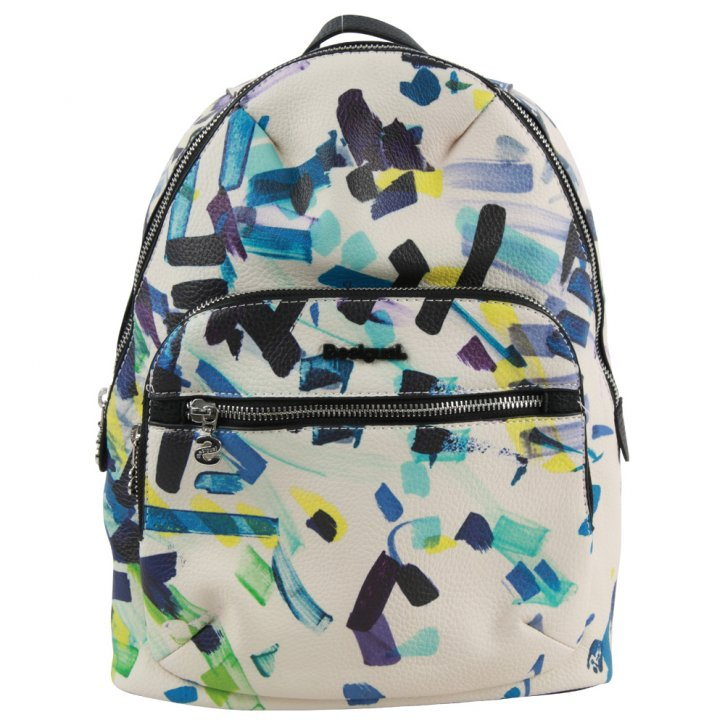 CONFETTI LIMA black backpack