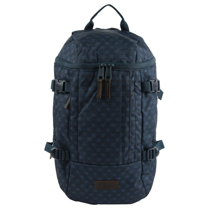 TOPFOLD Laptoprucksack denim checks