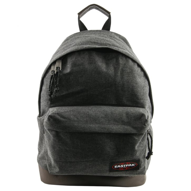 WYOMING black denim, Rucksack