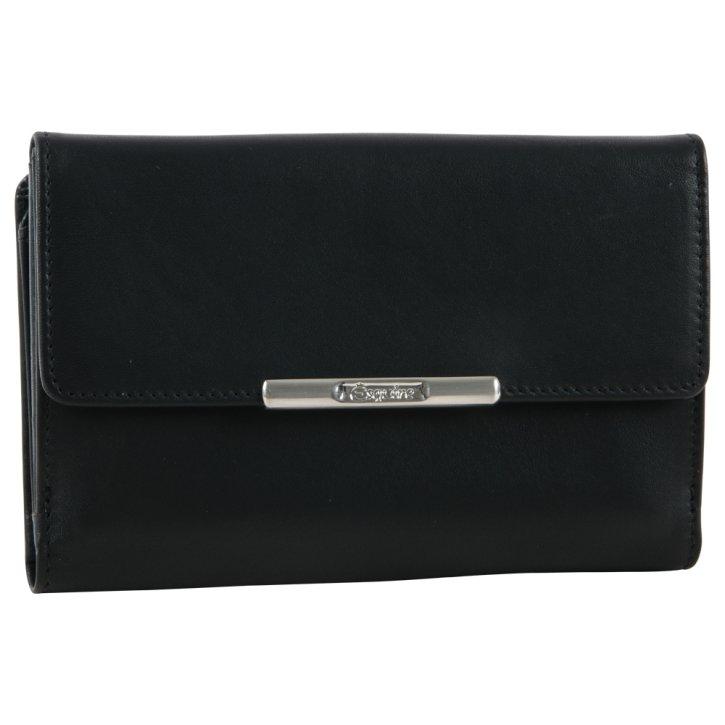 Damenbörse schwarz Helena RFID