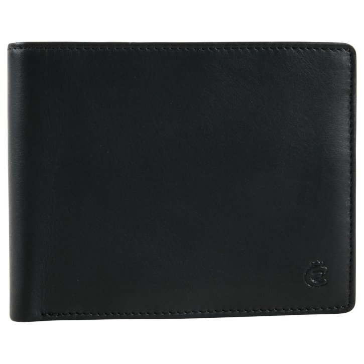 Scheintasche schwarz Slim Protect RFID