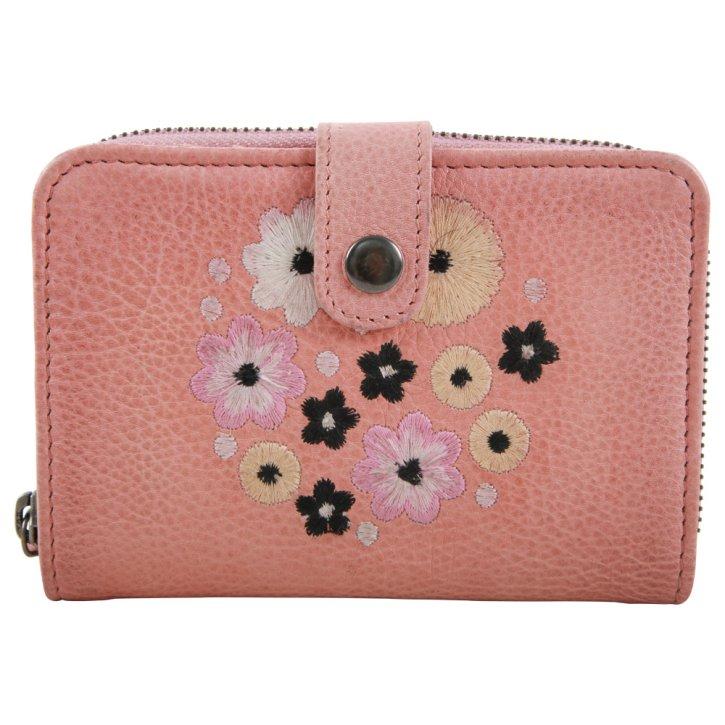 DAHLIA Portemonnaie rose wallet
