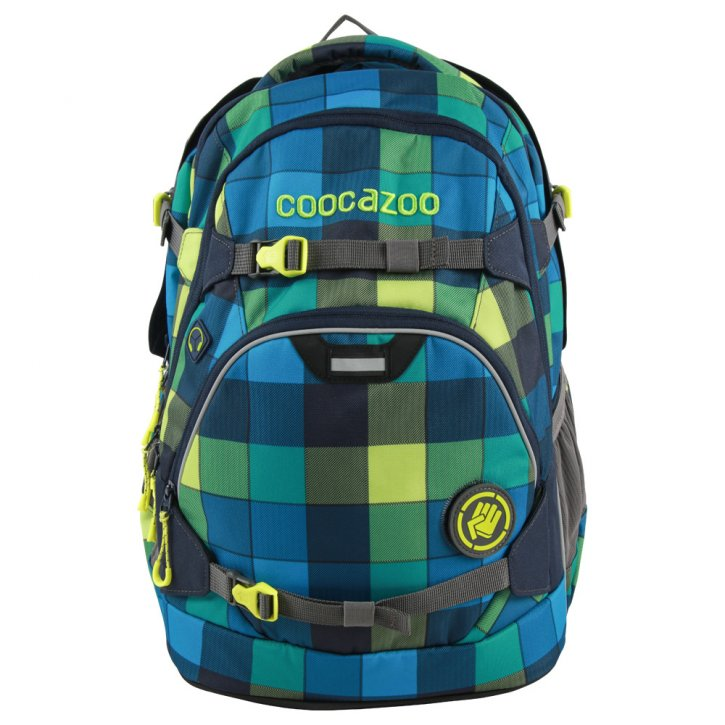 COOCAZOO ScaleRale Rucksack lime district