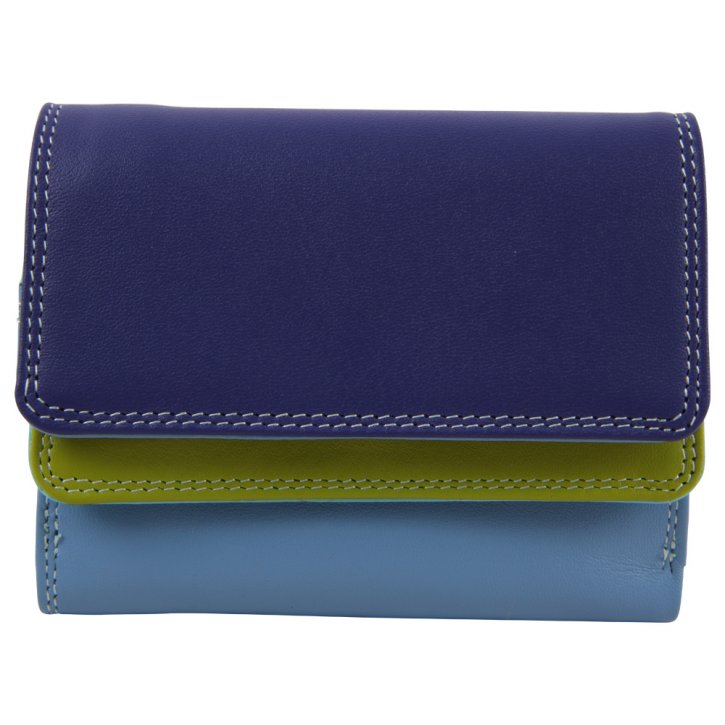 Small Double Lavender Flap wallet