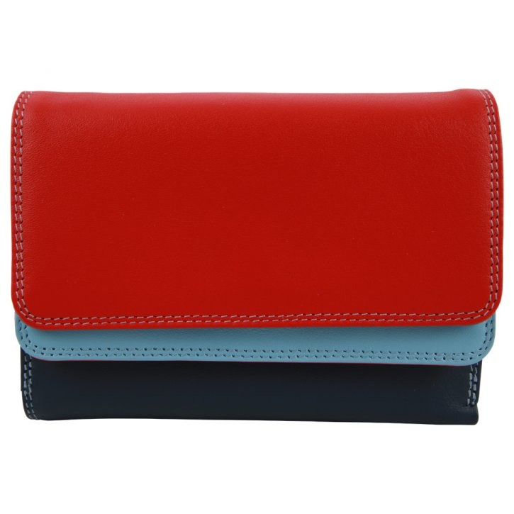 Double Flap Purse/Wallet Royal