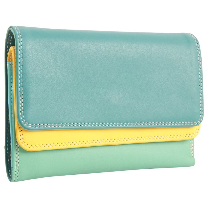 mywalit Double Flap Damenbörse mint