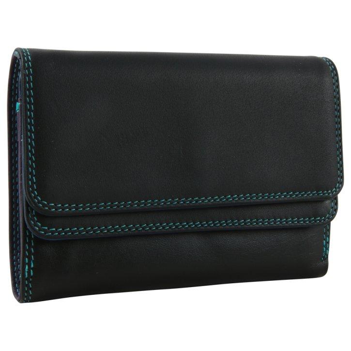 Double Flap Damenbörse black/pace