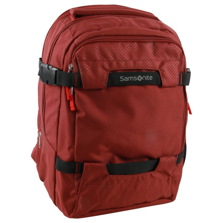 Samsonite Sonora Laptop Backpack L exp/barn red