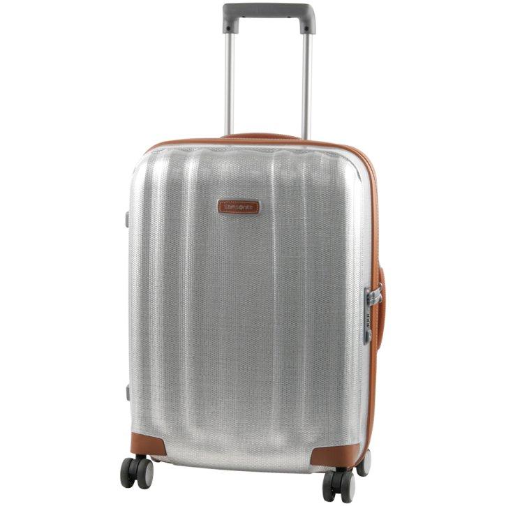 Samsonite Koffer Lite-Cube DLX 55 Trolley alu