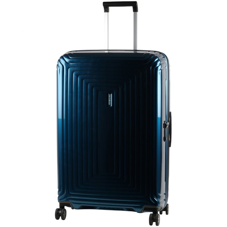 Samsonite Neopulse 75/28 Schalenkoffer metallic blue