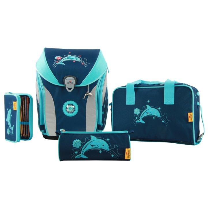 DerDieDas Set Ergoflex Max Glitter Dolphin STE-8408116