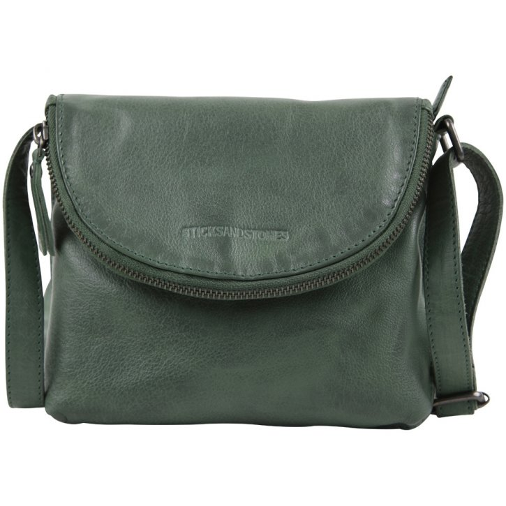 Toledo Bag Buff Washed forest green