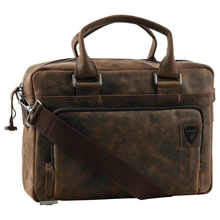 Richmond briefbag dark brown