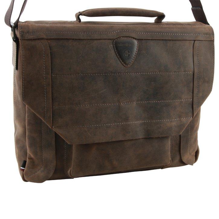 HUNTER briefbag mhf dark brown