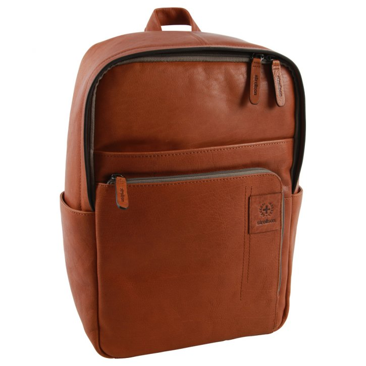 Strellson hyde park cognac backpack