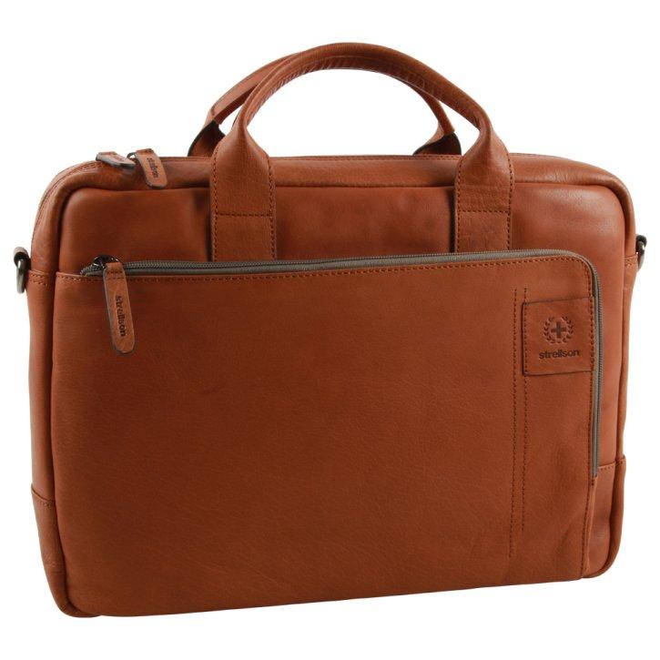 Strellson hyde park Laptoptasche cognac ST-4010002765-703