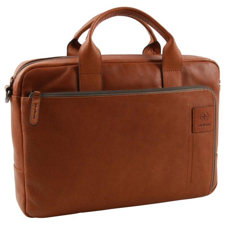 Strellson hyde park Laptoptasche cognac ST-4010002766-703