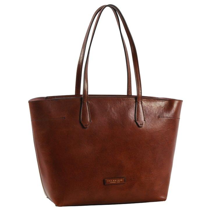 Shopping Bag braun Rindleder