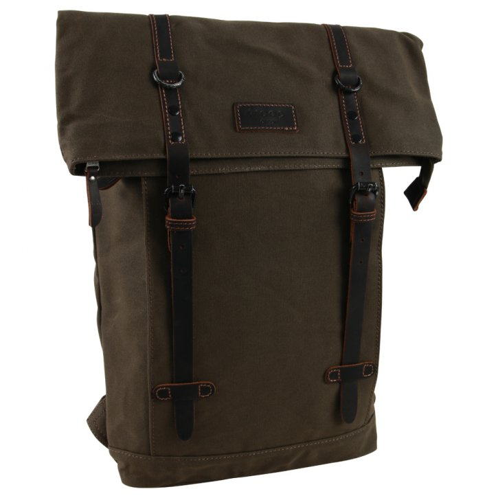 Troop London Backpack Canvas olive