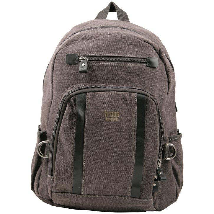 Troop London Backpack M Canvas black