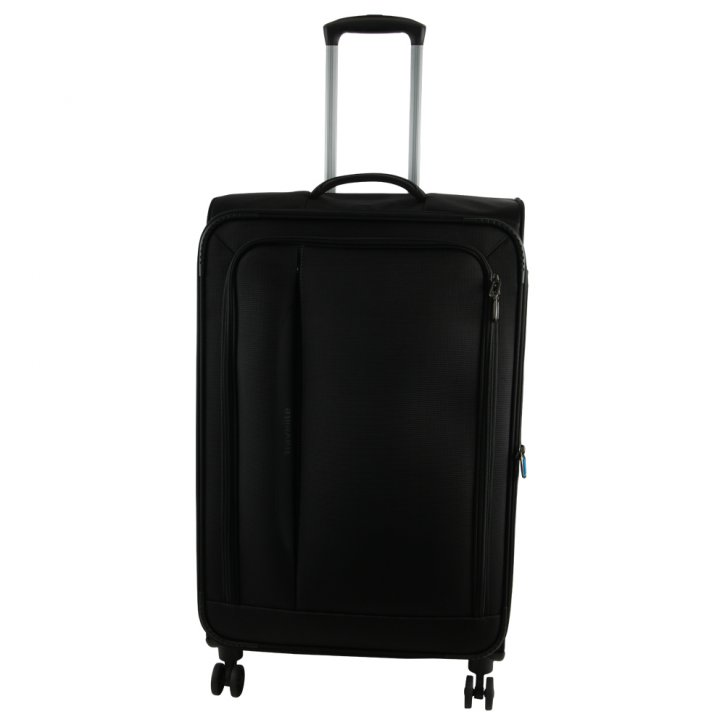 Travelite CrossLITE 4w L Trolley schwarz