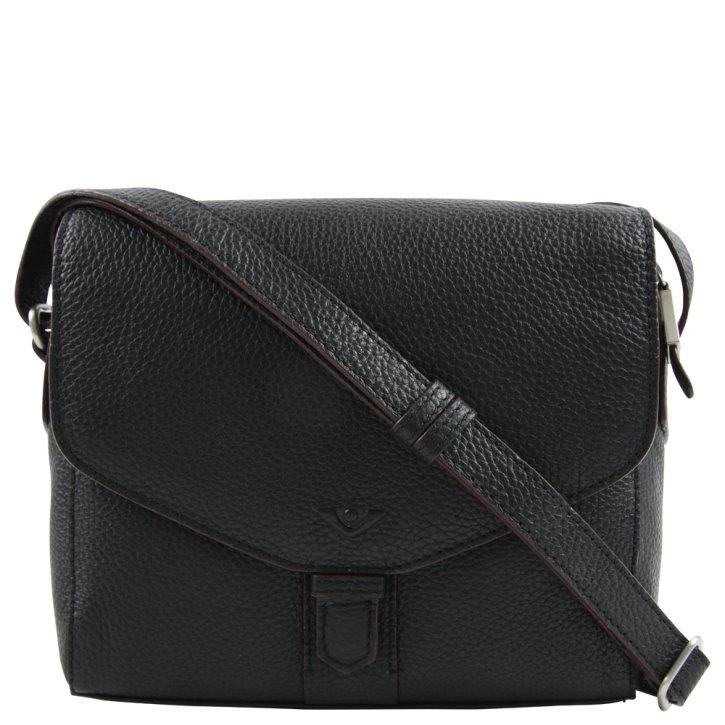 Voi Überschlagtasche schwarz