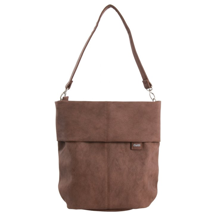ZWEI Mademoiselle M12 Shoulder nubuk brown